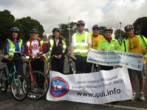Driving instructors' cycle training