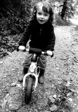 Ryan's son's balance bike
